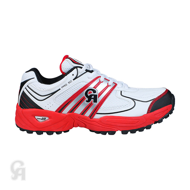 08d6c150735a CA Pro 50 Cricket Shoes (Red)