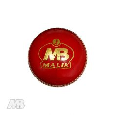 MB Malik Cricket Ball Front View