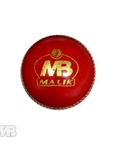 MB Malik Cricket Ball Front View