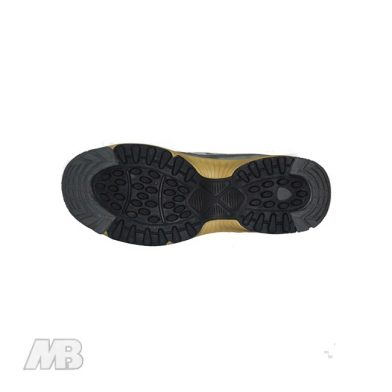 MB Malik Cricket Shoes (Golden) Bottom View