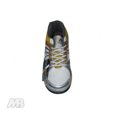 MB Malik Cricket Shoes (Golden) Top View