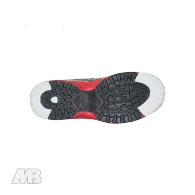 MB Malik Cricket Shoes (Red) Bottom View