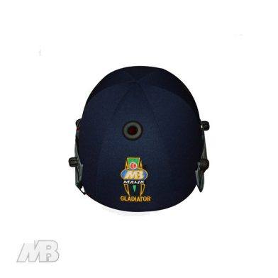 MB Malik Gladiator Batting Helmet Back View
