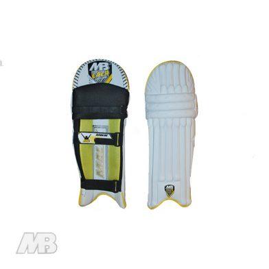 MB Malik LALA Edition Batting Pads Front And Back View