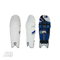 MB Malik Pearl Batting Pads Views
