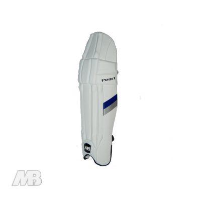 MB Malik Pearl Batting Pads Side View