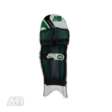MB Malik Reserve Edition Batting Pads Back View